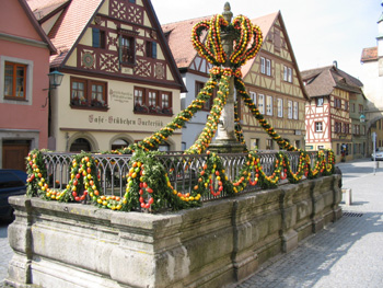 Brønd i Rothenburg